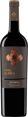 23,95 € Envío gratis | Vino tinto Cruz De Alba Reserva D.O. Ribera del Duero Castilla y León España Tempranillo Botella 75 cl