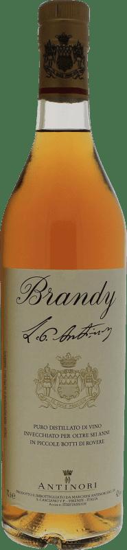 29,95 € Free Shipping | Brandy Pèppoli Antinori Italy Bottle 70 cl