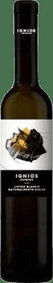 33,95 € Envio grátis | Vinho fortificado Ignios Orígenes Doce D.O. Ycoden-Daute-Isora Ilhas Canárias Espanha Listán Branco Meia Garrafa 50 cl