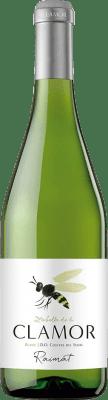 5,95 € Free Shipping | White wine Raimat Clamor Dry Joven D.O. Costers del Segre Catalonia Spain Macabeo, Chardonnay, Sauvignon White Bottle 75 cl