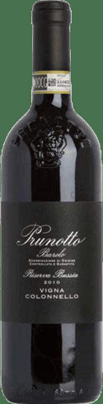 114,95 € Free Shipping | Red wine Prunotto Vigna Colonnello Riserva Bussia Reserva 2009 D.O.C.G. Barolo Italy Nebbiolo Bottle 75 cl