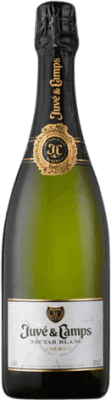 12,95 € Free Shipping | White sparkling Juvé y Camps Nectar Sweet D.O. Cava Catalonia Spain Macabeo, Xarel·lo, Parellada Bottle 75 cl | Thousands of wine lovers trust us to get the best price guarantee, free shipping always and hassle-free shopping and returns.