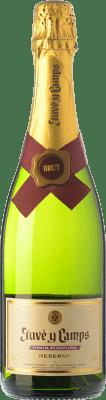 6,95 € Free Shipping | White sparkling Juvé y Camps Brut Reserva D.O. Cava Catalonia Spain Macabeo, Xarel·lo, Parellada Half Bottle 37 cl