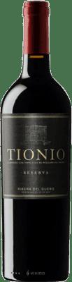 19,95 € Envoi gratuit | Vin rouge Tionio Reserva D.O. Ribera del Duero Castille et Leon Espagne Tempranillo Bouteille 75 cl