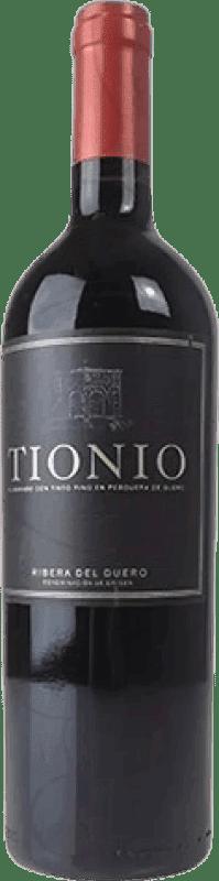 39,95 € Free Shipping | Red wine Tionio Reserva D.O. Ribera del Duero Castilla y León Spain Tempranillo Magnum Bottle 1,5 L