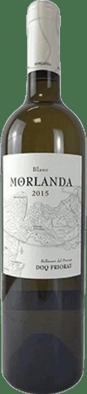9,95 € Free Shipping | White wine Viticultors del Priorat Morlanda Crianza D.O.Ca. Priorat Catalonia Spain Grenache White, Macabeo Bottle 75 cl