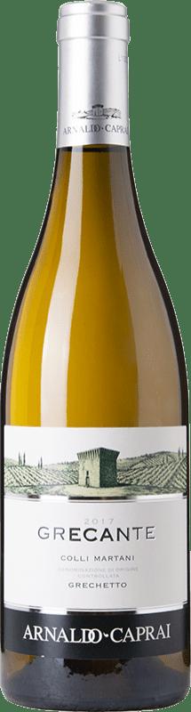 16,95 € Free Shipping | White wine Caprai Grecante Colli Martani Joven Otras D.O.C. Italia Italy Greco Bottle 75 cl