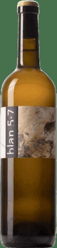 11,95 € Free Shipping | White wine Jordi Llorens Blan 5.7 Joven Catalonia Spain Macabeo Bottle 75 cl