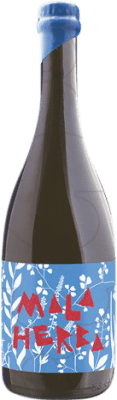 21,95 € Free Shipping | White sparkling Finca Parera Mala Herba Ancestral Catalonia Spain Xarel·lo Bottle 75 cl