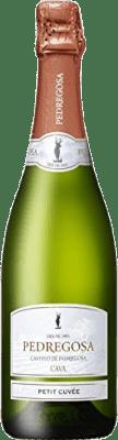 6,95 € Free Shipping | White sparkling Pedregosa Petit Cuvée Brut Nature Joven D.O. Cava Catalonia Spain Macabeo, Xarel·lo, Parellada Bottle 75 cl