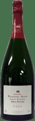 43,95 € Free Shipping | White sparkling Raventós i Blanc Brut Gran Reserva Catalonia Spain Pinot Black, Macabeo, Xarel·lo, Chardonnay, Parellada Magnum Bottle 1,5 L