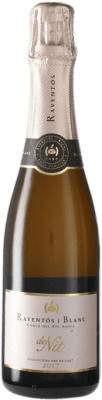 8,95 € Free Shipping | Rosé sparkling Raventós i Blanc de Nit Brut Joven Catalonia Spain Monastrell, Macabeo, Xarel·lo, Parellada Half Bottle 37 cl | Thousands of wine lovers trust us to get the best price guarantee, free shipping always and hassle-free shopping and returns.