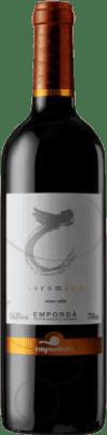 12,95 € Free Shipping | Red wine Empordàlia Sinols Coromina Reserva D.O. Empordà Catalonia Spain Bottle 75 cl