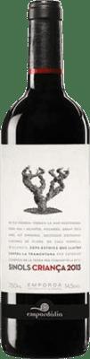 7,95 € Free Shipping | Red wine Empordàlia Sinols Crianza D.O. Empordà Catalonia Spain Bottle 75 cl