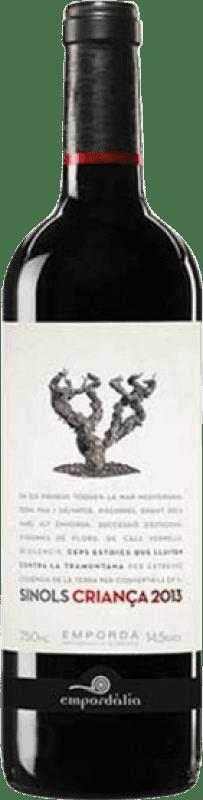 7,95 € Envío gratis   Vino tinto Empordàlia Sinols Crianza D.O. Empordà Cataluña España Botella 75 cl