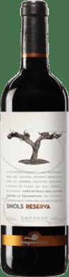 12,95 € Free Shipping | Red wine Empordàlia Sinols Reserva D.O. Empordà Catalonia Spain Bottle 75 cl
