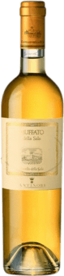 46,95 € Free Shipping | Fortified wine Castello della Sala Antinori Muffato Otras D.O.C. Italia Italy Sauvignon White, Gewürztraminer, Riesling, Sémillon, Greco Half Bottle 50 cl