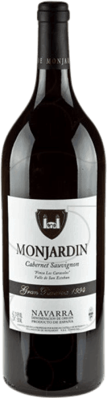 28,95 € Free Shipping | Red wine Castillo de Monjardín Gran Reserva D.O. Navarra Navarre Spain Cabernet Sauvignon Magnum Bottle 1,5 L