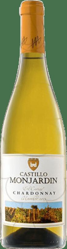 11,95 € Free Shipping | White wine Castillo de Monjardín Joven D.O. Navarra Navarre Spain Chardonnay Magnum Bottle 1,5 L