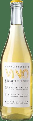 18,95 € Free Shipping | White wine Cascina degli Ulivi Semplicemente Vino Bellotti Bianco Joven Otras D.O.C. Italia Italy Cortese Bottle 75 cl