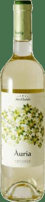 7,95 € Free Shipping | White wine Mas Llunes Àuria Joven D.O. Empordà Catalonia Spain Muscatel Bottle 75 cl