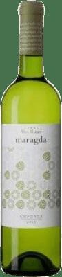 7,95 € Free Shipping | White wine Mas Llunes Maragda Joven D.O. Empordà Catalonia Spain Grenache White, Macabeo Bottle 75 cl