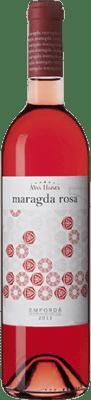 7,95 € Free Shipping | Rosé wine Mas Llunes Maragda Joven D.O. Empordà Catalonia Spain Syrah, Grenache Bottle 75 cl