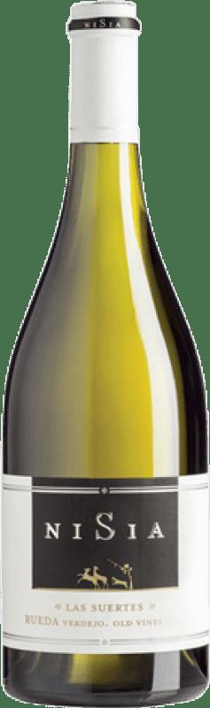 19,95 € Envío gratis | Vino blanco Ordóñez Nisia las Suertes Crianza Castilla y León España Verdejo Botella 75 cl