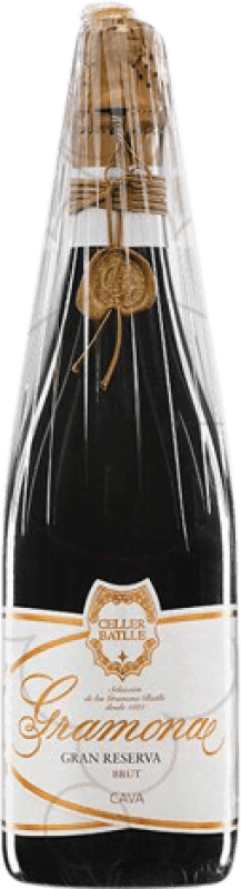93,95 € 免费送货 | 白起泡酒 Gramona Celler Batlle 香槟 Gran Reserva 2004 D.O. Cava 加泰罗尼亚 西班牙 Macabeo, Xarel·lo 瓶子 75 cl
