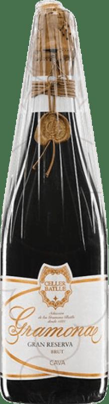 93,95 € Free Shipping | White sparkling Gramona Celler Batlle Brut Gran Reserva 2004 D.O. Cava Catalonia Spain Macabeo, Xarel·lo Bottle 75 cl