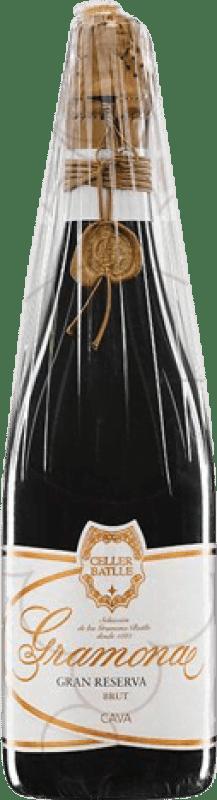 79,95 € Free Shipping | White sparkling Gramona Celler Batlle Brut Gran Reserva 2005 D.O. Cava Catalonia Spain Macabeo, Xarel·lo Bottle 75 cl