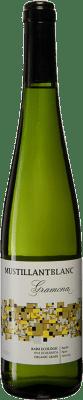 7,95 € Free Shipping | White sparkling Gramona Mustillant Vi d'Agulla Brut D.O. Penedès Catalonia Spain Parellada Bottle 75 cl