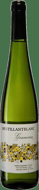 7,95 € 免费送货 | 白起泡酒 Gramona Mustillant Vi d'Agulla 香槟 D.O. Penedès 加泰罗尼亚 西班牙 Parellada 瓶子 75 cl