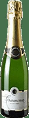 11,95 € Envio grátis | Espumante branco Gramona Brut Reserva D.O. Cava Catalunha Espanha Macabeo, Xarel·lo, Chardonnay, Parellada Meia Garrafa 37 cl