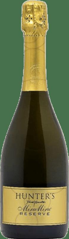 29,95 € Free Shipping | White sparkling Hunter's Miru Miru Brut Reserva New Zealand Pinot Black, Chardonnay, Pinot Meunier Bottle 75 cl