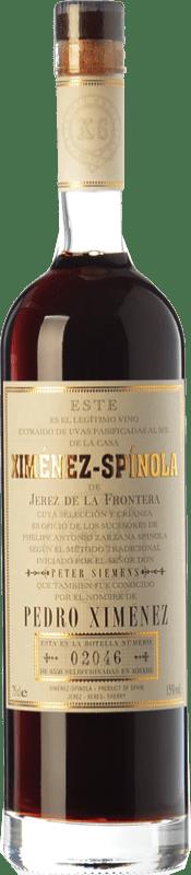 65,95 € Free Shipping | Fortified wine Ximénez-Spínola D.O. Jerez-Xérès-Sherry Andalucía y Extremadura Spain Pedro Ximénez Bottle 75 cl