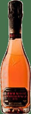 8,95 € Free Shipping | Rosé sparkling Agustí Torelló Bayanus 375 Brut Reserva D.O. Cava Catalonia Spain Trepat Half Bottle 37 cl