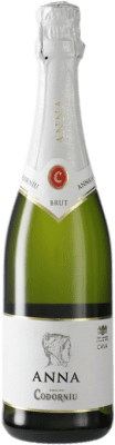 6,95 € Free Shipping   White sparkling Codorníu Anna Brut Reserva D.O. Cava Catalonia Spain Macabeo, Xarel·lo, Chardonnay, Parellada Half Bottle 37 cl   Thousands of wine lovers trust us to get the best price guarantee, free shipping always and hassle-free shopping and returns.