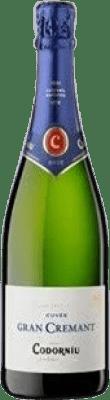 6,95 € Envoi gratuit | Blanc moussant Codorníu Gran Cremant Brut Reserva D.O. Cava Catalogne Espagne Macabeo, Xarel·lo, Parellada Bouteille 75 cl | Des milliers d'amateurs de vin nous font confiance avec la garantie du meilleur prix, une livraison toujours gratuite et des achats et retours sans complications.