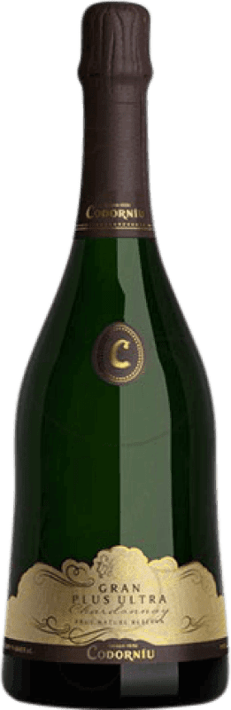 15,95 € Free Shipping | White sparkling Codorníu Gran Plus Ultra Brut Nature Reserva D.O. Cava Catalonia Spain Chardonnay, Parellada Bottle 75 cl