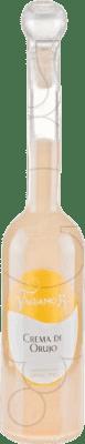 12,95 € Envío gratis | Crema de Licor Valdamor Crema de Orujo España Media Botella 50 cl