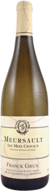 91,95 € Free Shipping | White wine Franck Grux Meursault Les Meix Chavaux Crianza A.O.C. Bourgogne France Chardonnay Bottle 75 cl