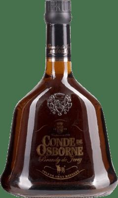 25,95 € Free Shipping | Brandy Conde Osborne Cristal Spain Bottle 70 cl