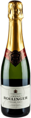 26,95 € Free Shipping | White sparkling Bollinger Cuvée Brut Gran Reserva A.O.C. Champagne France Pinot Black, Chardonnay, Pinot Meunier Half Bottle 37 cl