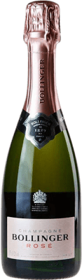39,95 € Free Shipping | Rosé sparkling Bollinger Rosé Brut Gran Reserva A.O.C. Champagne France Pinot Black, Chardonnay, Pinot Meunier Half Bottle 37 cl