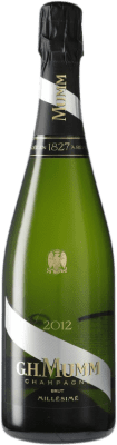 38,95 € Free Shipping | White sparkling G.H. Mumm Cordon Rouge Millesime Brut Gran Reserva A.O.C. Champagne France Pinot Black, Chardonnay, Pinot Meunier Bottle 75 cl | Thousands of wine lovers trust us to get the best price guarantee, free shipping always and hassle-free shopping and returns.