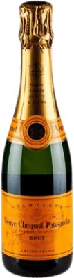 28,95 € Free Shipping | White sparkling Veuve Clicquot Carte Jeune Brut Gran Reserva A.O.C. Champagne France Pinot Black, Chardonnay, Pinot Meunier Half Bottle 37 cl