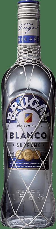 16,95 € Envoi gratuit | Rhum Brugal Blanco Supremo République Dominicaine Bouteille 70 cl