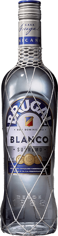 13,95 € Free Shipping | Rum Brugal Blanco Supremo Dominican Republic Bottle 70 cl