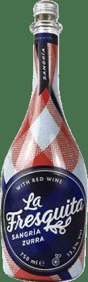 7,95 € Kostenloser Versand | Wein Sangria Sort del Castell La Fresquita Zurra Spanien Flasche 75 cl